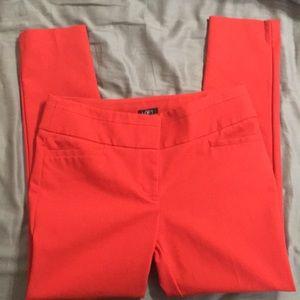 Loft cropped skinny pants